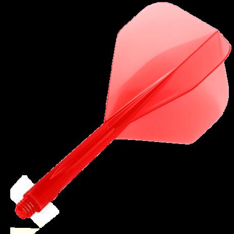 Plumas CONDOR Rojo standard mediana. 3 Uds.
