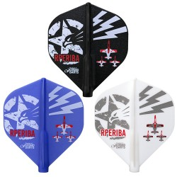 Plumas FIT FLIGHT Standard by Ricardo Perez Ibarra. 3 Uds.