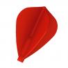 Penas FIT FLIGHT Kite vermelha. 6 Uds.