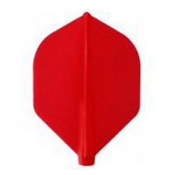 Penas FIT FLIGHT Rocket Vermelho. 6 Uds.