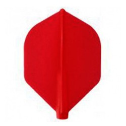 Plumas FIT FLIGHT Rocket Roja. 6 Uds.