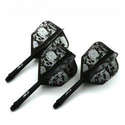 Plumas CUESOUL AK5 Shape Skeleton Black