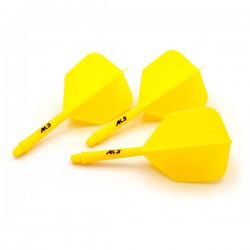 CUESOUL Flights AK5 Shape Yellow