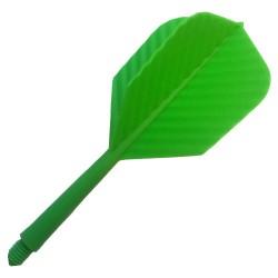 ALETAS SUPERSONIC Verde. 100 Uds