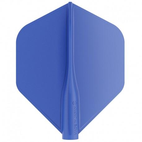 Penas 8-FLIGHT Standard azul. 3 Uds.
