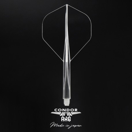 CONDOR AXE Transparente Standard longa. 3 Uds.