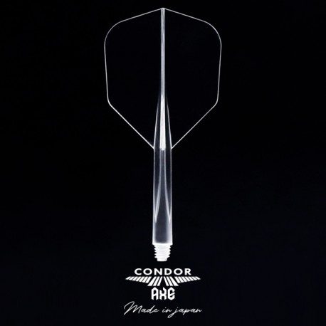 CONDOR AXE Transparente shape curta. 3 Uds.