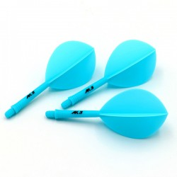 CUESOUL Flights AK5 Teardrop Blue