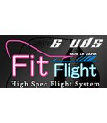Plumas Fit Flight 6 Uds