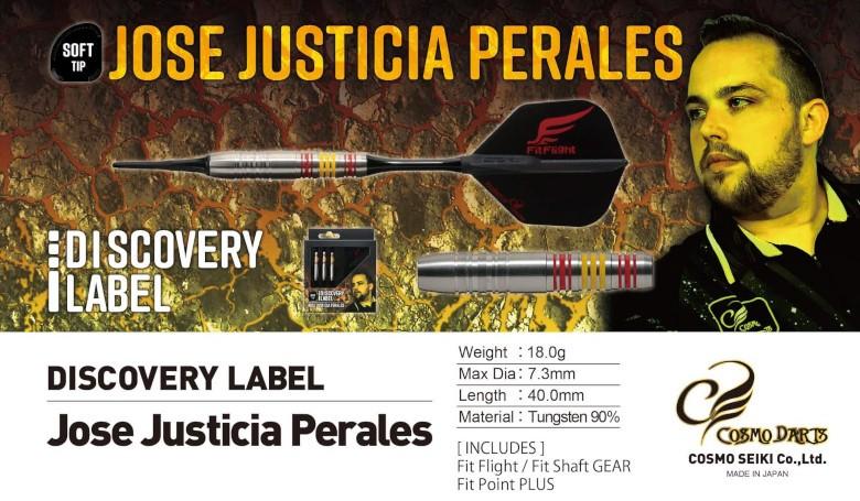 Cosmo Darts Discovery Label Jose Justicia